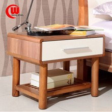 Simple modern smooth log color piano paint new style nightstand