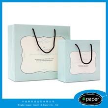 2015 Popular happy birthday baker's dozen vertical stripe paper gift bags With Logo Print