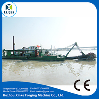 Hydraulic Sand And Mud Cutter Dredger & Dredging Barge For Sale