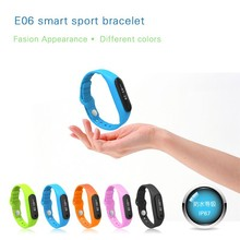 Personal tooling TPU waterproof fitness tracker display calle ID BT4.0 smart sports bracelet