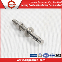 Alibaba China supplier cold forging wedge anchor