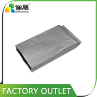 Manufacturer wholesale resealable aluminum foil coffee packaging bag with valve
