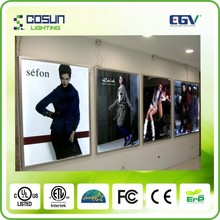 Movie Poster Frame 27 x 41 Inches, Aluminum Profile, Front Loading Snap Display