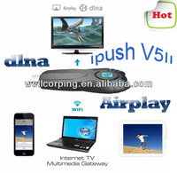 New iPush WiFi Display Dongle for Smart Phone/Tablet/ipad Multi-Screen Interactive DLAN Airplay free shippiing