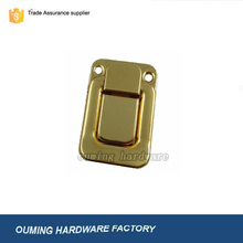 High quality decorative box lock in shining gold hardware accessories for box