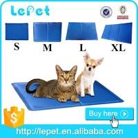 Custom logo Re-useable self-cooling waterproof dog cooling gel pad pet cool pad