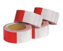 Conspicuity Markings, Night Time Conspicuity, Reflective Marking Tape, FMVSS 108 Certified HI-INT-180018