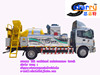 combined maintenance asphalt paver truck/road construction machinery