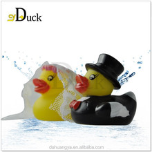 Double Rubber ,Pvc Material and Rubber Duck Bath Toy