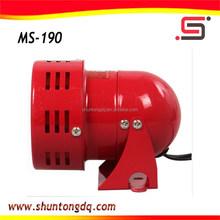 100w red portable electronic mini motor siren/ hooter speaker ms-190