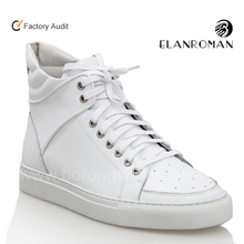Famous brand name men leather sneaker style