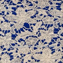 YJC8202-110 Factory cotton guipure cheap lace fabric