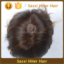 Toupees For Black Men's Toupee Indian Full Lace Wigs with top quality