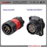 Cnlinko 4 Pole Connector, Junction Box Electrical Connector