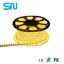 promotion packing 50m AC220v waterproof ip65 smd 5050 rgb led strip