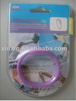 wristband silicone watch/silicone watch/ion sports watch