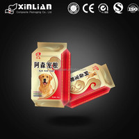 Factory price high quality eight side sealing dog food bag