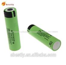 Fábrica de vender directamente de la batería 18650 3.7v 3000 mah batería de litio ion, recargable 3.7v cilindro de iones