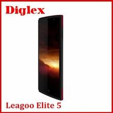 Original leagoo Elite 5 Android 5.1 Mobile Phone MTK6735 Quad Core 5.5inch 1280X720 2GB RAM 16GB ROM 13.0MP Dual Sim 4G 4000mAh