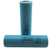 Hottest!!!High quality Samsung 18650 25r 2500mah battery 3.7v 2500mah used lead acid battery scrap