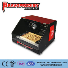 New Design wood, plastic, MDF, ABS hobbist photo/gold and silver/baseball bat carving machine