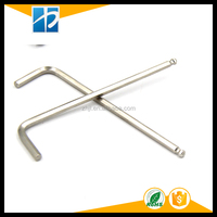 DIN911nickel plated ball point L style hexagon wrench