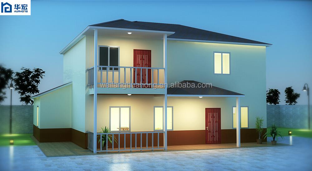 Prefab duplex house made pre made prefabricated houses for Prefab duplex prices