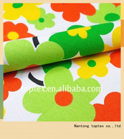 100% cotton canvas printed sofa cover fabric