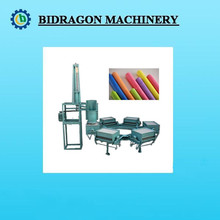 six moulds electrical driven slurry mixer auto water feeding one operator chalk making machine