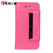 Factory price PU leather classic style flip case for iphone6