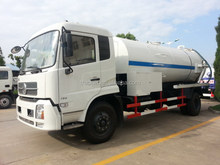 Contemporary OEM small sewage suction tanker truck