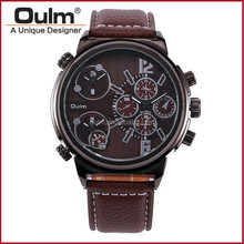 Hot sale oulm business watch, more time watch, vogue watch for men