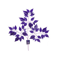 2015 Wholesale elegant fashion and new design purple arificial cheery tree leaf for wedding home party decoration