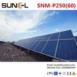 250w solar panel export to Brazil Philippines Saudi Arabia etc