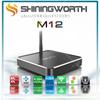 OTA support Shiningworth M10 customized launcher andriod 5.1 smart OTT TV BOX ,kodi helix internet tv set top box M12