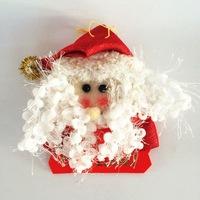 YUWU Caddy SDZS-259 2015 santa Christmas decoration/ hanging ornaments plush santa clause father christmas