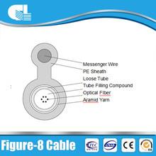 OEM avaliable single/multi mode figure 8 fiber optic cable
