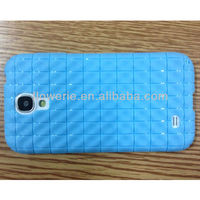 FL661 STOCK! Water Cube CASE for samsung galaxy s4 Water Ripples Pattern case Soft TPU Case fashion for S4 GUANGZHOU wholesale
