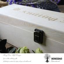 HONGDAO sale!!! wood wine box, gift box, pretty wine box