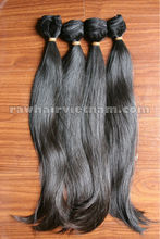 50cm Best Machine Weft Straight Hair 100% Virgin Vietnam Hair, Cambodia hair