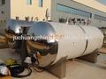 Horizortal tipo pote/açoinoxidável de água do tanque de armazenamento