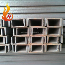 carbon steel hot rolled steel channel