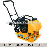 80Kgs petrol reversible vibratory plate compactor with spare parts