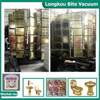 pvd floor tile color coating/floor ceramic tile gold color coating production line
