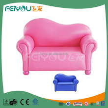 Noble style filled with 20D sponge kids sectional sofa