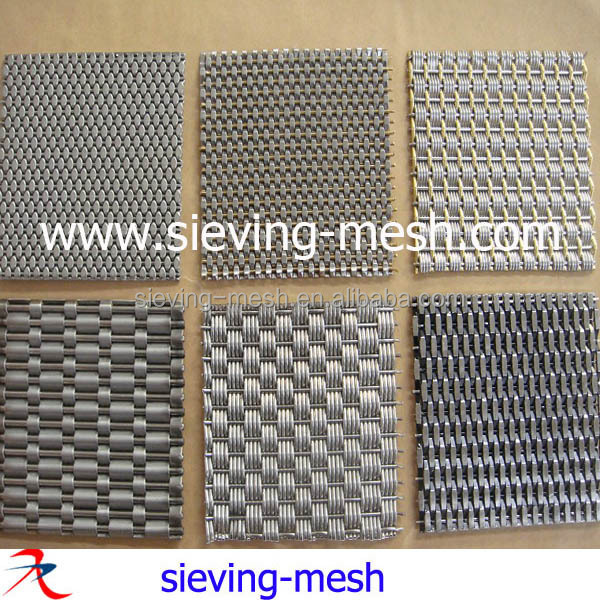 Stainless Steel Architectural Wire Mesh Facade,Ss Woven Wire Mesh ...