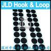 Self adhesive hook loop circles roll