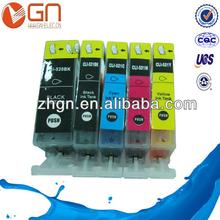 Edible ink cartridge PGI-520 CLI-521 for Canon pixma IP3600/3680/3650/4680/4600/4650.MP638/630