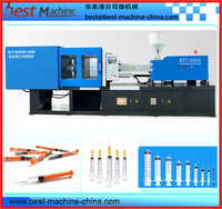 plastic injection molding machine for high capacity disposable syringe