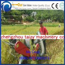 Efficace chenilles riz moissonneuse batteuse